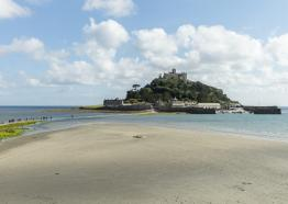 St Michaels Mount, Marazion, West Cornwall