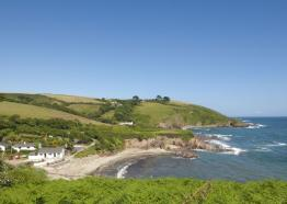 Talland Bay Beach near Looe and Polperro
