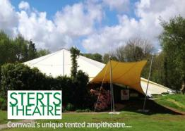 Sterts Theatre..Cornwall's Unique Tented Ampitheatre
