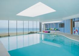Activities in Cornwall, Swim Club at Watergate Bay Hotel, Watergate Bay, Cornwall