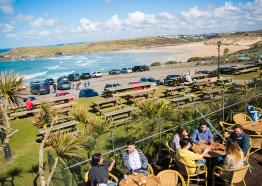 Best Beer Garden in Cornwall, The Bowgie Inn