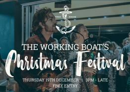Christmas at the Working Boat
