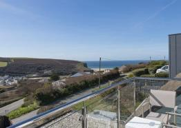 View from Mawgan Porth Apartments, Cornwall