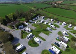 Dolbeare Park, Caravan and Camping Site, Saltash, Cornwall