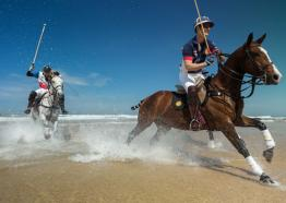 Polo on the Beach, Watergate Bay, Cornwall