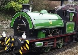 Eustace Forth coming soon to Helston Railway