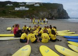 Falmouth and Porthtowan Surf School,Falmouth