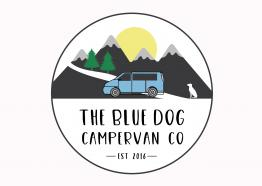 The Blue Dog Campervan Co. Logo