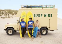Cornwall Surf Academy at Holywell Bay