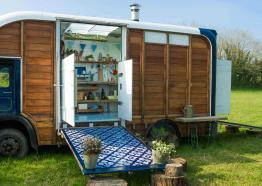 Glamping, West Cornwall, St Ives
