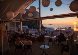 Lusty Glaze Beach Bar and Restaurant, Newquay, Cornwall