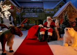 santa grotto, milky way, what's On, Christmas