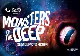 Monsters of the Deep at National Maritime Museum Cornwall