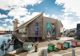 May half term National Maritime Museum Cornwall