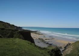 Sandymouth Beach, Bude, Cornwall- Houndapitt Cottages