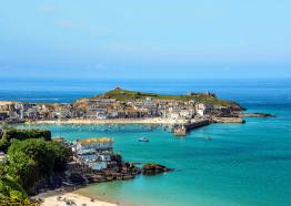 st-ives-cornwall-the-pedn-olva-hotel-st-austell-brewery-pubs-hotels-and-inns-cornish-holiday-summer