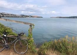 View along the Camel Trail looking towards Padstow