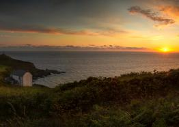 Sunset at Wheal Call