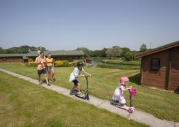 White Acres Holiday Park, near Newquay, North Cornwall