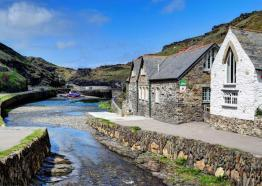YHA, Boscastle Youth Hostel, Cornwall
