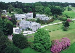 An aerial view of Boconnoc