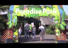 Enjoy a fun day out at Paradise Park in Hayle, Cornwall, UK