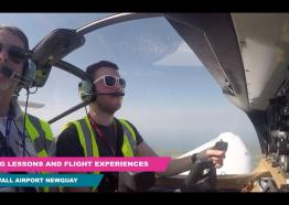 Trial Flying Lesson Experience and Flying Lessons - Cornwall Airport Newquay