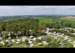 Heligan Woods Caravan and Camping Site, Cornwall