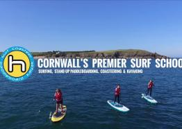 Harlyn surf school activity video