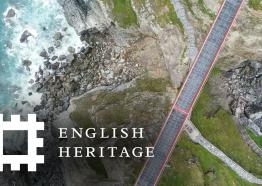 Postcard from Tintagel Castle, Cornwall | England Drone Footage