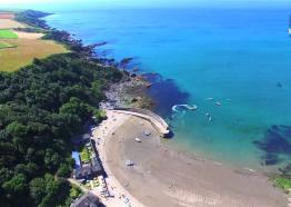 Polkerris Beach South Coast Cornwall