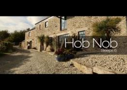 Old Lanwarnick - Hob Nob, a lovely Barn with Woodland and Countryside views