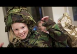 Kids Love Cornwall's Regimental Museum!