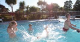 Trevella Holiday Park near Newquay Cornwall