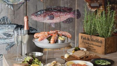 Rick Stein, Padstow, Seafood bar, Cornwall