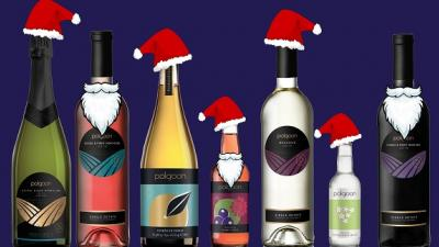 Polgoon Wine and cider, Mulled, Christmas 2017