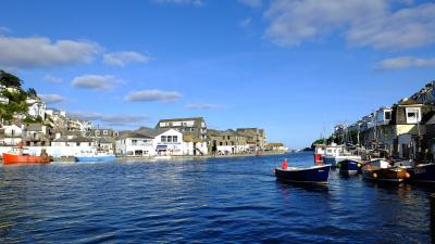 Looe Harbour, Cornwall: m-camp