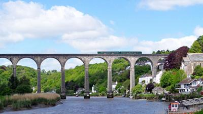 Calstock, Tamar Valley Line, GWR, Cornwall