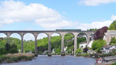 Calstock viaduct, Tamar Valley Line