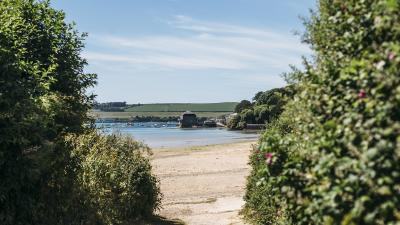 Porthilly Cove, near Rock, Camel Estuary, Cornwall