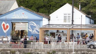 Amelie's Porthleven, Cornwall, Food and drink, 2017