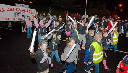 St Austell Torchlight Carnival