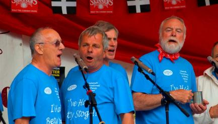 Falmouth International Sea Shanty Festival, Cornwall