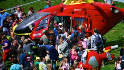 Cornwall Air Ambulance Trust Family Fun Day, Pencarrow, Bodmin
