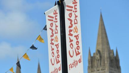 Great Cornish Food Festival (Cornwall Food & Drink), Truro, Cornwall