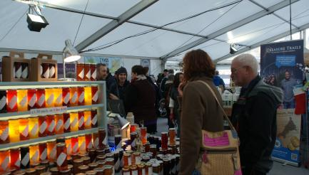 Made in Cornwall Christmas Fair, Truro, Cornwall